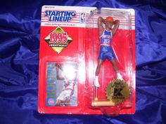 1995 Starting Line Up K-Mart Exclusive Rookie Grant Hill. #StartingLineup