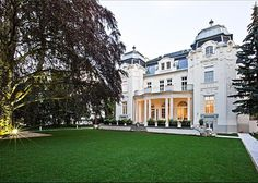 Austria....Magnificent newly restored period mansion in the heart of the 13th district