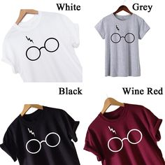 Buy Pack of 4 – Harry Potter T-shirts Online in Pakistan at Juniba Deal Today, Tshirts Online, Pakistan, Online Shopping, Harry Potter, Delivery, Glasses, Best Deals, T Shirt