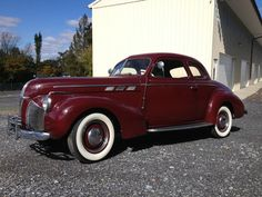 1940 Pontiac business coupe