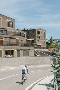 "Completed in 2015 in Eppan an der Weinstraße, Italy. Images by Hertha Hurnaus. The houses are grouped around a green inner courtyard common to all in the manner of the village green or the ""Common"", as it was once called. The..."