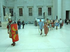 https://flic.kr/p/cfcnqJ | A Roman parade in the British Museum