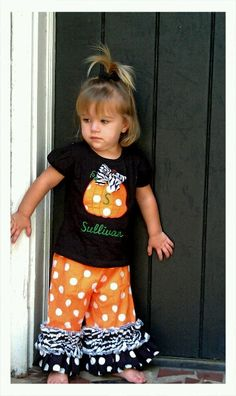 Halloween Outfit sizes New Born up to size 10 Long by CruzsDesigns, $28.00