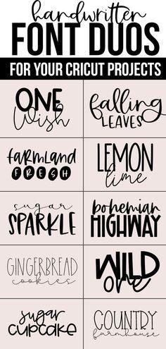 Hand Lettering Fonts, Lettering Styles, Lettering Tutorial, Monogram Fonts, Monogram Letters, Script Writing Fonts, Free Handwritten Script Fonts, Best Script Fonts, Hand Fonts