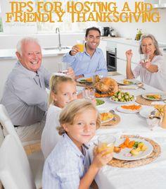 Tips for hosting a kid-friendly thanksgiving dinner #thanksgiving