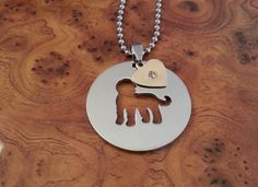 Goldendoodle Pendant, Goldendoodle Necklace, Goldendoodle Charm, Goldendoodle Dog Tag, FREE SHIPPING!