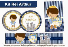 Kit Festa Rei Arthur