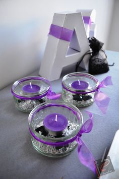 If your color is purple this would make great decorations for a bridal shower.