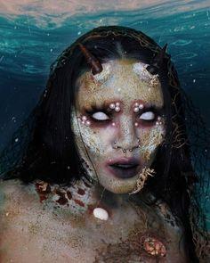 White Lenses, Halloween Face Makeup, Cosplay