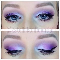 Purple using Ud electric palette