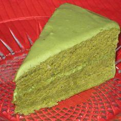 Green Tea Cake (vegan) | Made Just Right by Earth Balance #vegan #earthbalance #recipe
