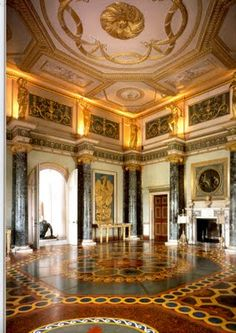 Syon House, historically also Zion House with its 200-acre park, is in west London, England. It belongs to the Duke of Northumberland and is now his family's London residence. It opened in 1415.