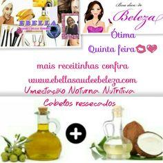 #seuscabelosagradecem 👱💖Confira mais receitinhas www.ebellasaudeebeleza.com