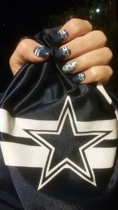 NFL Collection by Jamberry ~ 'Dallas Cowboys' with 'Go Dallas Cowboys'
