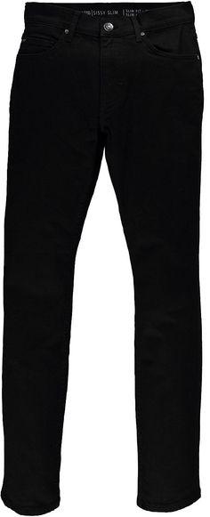 Schmal geschnittene Jeans mit hoher Leibhöhe und schmalem Beinverlauf. Ideale Form für jede Altersgruppe., 99 % Baumwolle, 1 % Elasthan....