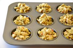 Thanksgiving Leftover Turkey and Stuffing Muffins Recipe