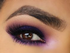 I love this look from @Sephora's #TheBeautyBoard http://gallery.sephora.com/photo/purple-shadows-54922