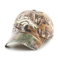 4477ecd547cd1 Denver Broncos Realtree Franchise 47 Brand Fitted Hat