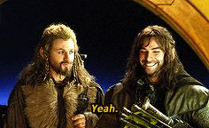 CA Girl  Hobbit Bloopers with Fili and Kili