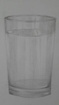 This is my first glass sketching...