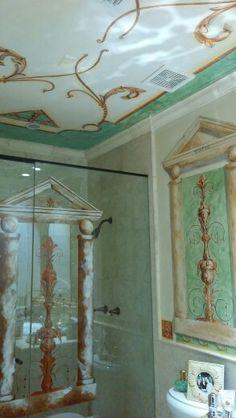 Fresco, Interior Design, Furniture, Home Decor, Green, Nest Design, Fresh, Decoration Home, Home Interior Design