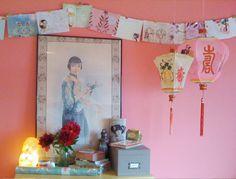 Cute Pink Chinese Lantern!