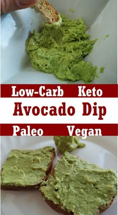This simple 2-minutes keto avocado dip is creamy, low carb, vegan, paleo, and dairy free. Everyone can make this simple avocado dip in less than 5 minutes. You definitely have 3 minutes, right? I think the time has come. Keto Avocado, Avocado Dip, Paleo Recipes, Low Carb Recipes, Paleo Nutrition, Low Carb Keto, Dairy Free, Dips, Simple