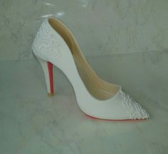 Check out this item in my Etsy shop https://www.etsy.com/listing/249763641/white-pointy-toe-high-heel-shoe-with