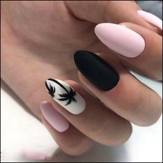 Nail art is a very popular trend these days and every woman you meet seems to have beautiful nails. It used to be that women would just go get a manicure or pedicure to get their nails trimmed and shaped with just a few coats of plain nail polish. Summer Acrylic Nails, Best Acrylic Nails, Matte Nails, Acrylic Nail Designs, Nail Art Designs, Nails Design, Salon Design, Beach Nails, Perfect Nails