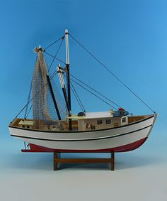 Loving this Shrimp Boat Replica on #zulily! #zulilyfinds