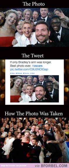 The Viral Oscar Selfie…