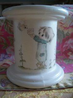 candle pillar Betsey Clark, vintage 1970's. $18.99, via Etsy.