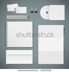 Vector Design Of Corporate Templates - 116357938 : Shutterstock