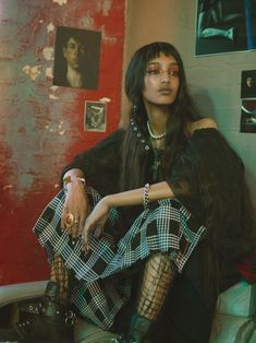 Mona Tougaard Offers Choice Words In i-D Magazine Lensed by Mario Sorrenti Vogue Korea, Vogue Spain, Vogue Russia, Pretty People, Beautiful People, Looks Hippie, Street Style Vintage, Look Fashion, Fashion Outfits