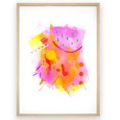 Melon Splice Print by Mara Girling | The Block Shop - Channel 9
