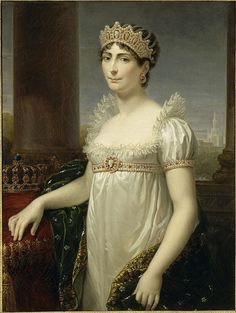 Joséphine de Beauharnais the first empress of France, wife of Napoleon, with cameo tiara