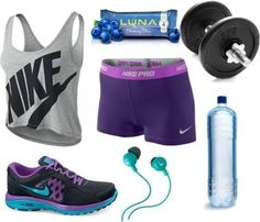 Exercise clothes and accessories [ SkinnyFoxDetox.com ] #workout #skinny #health