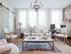 Elements of Style Blog | Faded and Fabulous | Love the faded rug and layers http://www.elementsofstyleblog.com