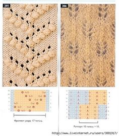 This Pin was discovered by Фед Lace Knitting Stitches, Crochet Stitches Patterns, Knitting Charts, Lace Patterns, Knitting Designs, Hand Knitting, Stitch Patterns, Knitting For Kids, Crochet Yarn