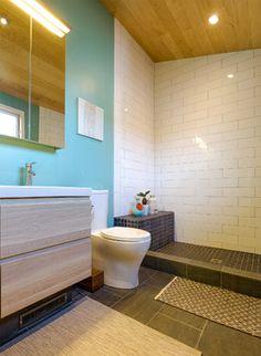 Jill's Modern Berkeley Bungalow - contemporary - Bathroom - San Francisco - Visual Jill Interior Decorating