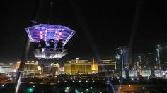 You Must See This Strange Las Vegas Attraction! - The Book of Travel Dinner In The Sky, Las Vegas Attractions, Famous Architecture, Las Vegas Strip, The Book, Seattle Skyline, Places To Visit, The Incredibles, World