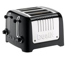 DL4B 4-Slice Toaster - Black