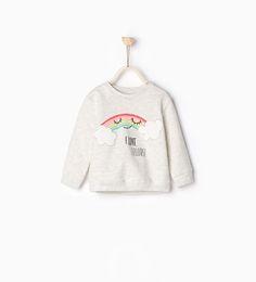 Image 1 of Printed sweatshirt from Zara