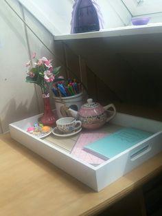 A homework station