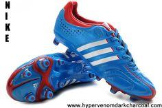 best website 3752c 53739 Latest Listing Cheap Bright Blue-Running White-Infrared Adidas Adipure  11Pro TRX FG Running