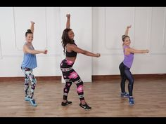 3/9/17 Burn 300 Calories in 30 Minutes Zumba Workout | Class FitSugar - YouTube