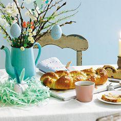 Kein Ostern ohne Osterzopf.