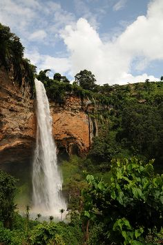 The Sipi Falls is a series of three waterfalls in Eastern Uganda in the district of Kapchorwa, northeast of Sironko and Mbale. The waterfalls lie on the edge of Mount Elgon National Park near the Kenyan border