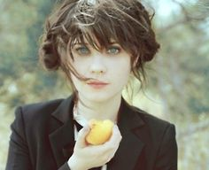 Zooey Dresnel, I have pictured her as Anastasia in 50 Shades since I started the first book. So she`s not in her twenties **shrug** She could pull it off IMO...