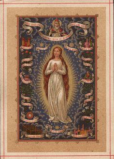 Ó Maria concebida sem pecado, rogai por nós, que recorremos a vós.